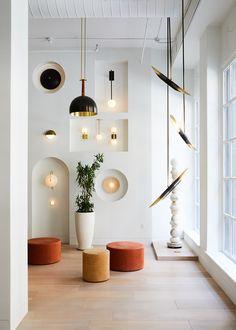 Allied Makeru0027s New Tribeca Showroom Is A Lush Garden Oasis. Showroom Interior  DesignRetail ...