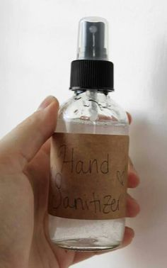 Home made hand sanitizer!
