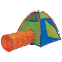 Pacific Play Tents 30414 Hide Me - Tent & Tunnel Combination - Neon Indoor Tent For Kids, Indoor Tents, Kids Tents, Play Tents, Teepee Tent, Outdoor Play, Kids Play Tunnel, Play Tent And Tunnel, Pop Up Play