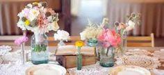 Resultado de imagem para decoração de festa de casamento simples e barata