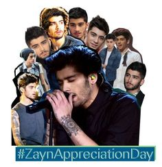 """""""#ZaynAppreciationDay"""" by fangirl-1d ❤ liked on Polyvore featuring art and ZaynAppreciationDay"""