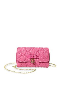 Betsey Johnson Always Be Mine Wallet On A String