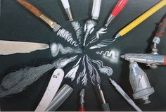 I use only exacto knives Kratz Kunst, Middle School Art Projects, Art School, Scratchboard Art, Scratch Art, Clip Art, Art Classroom, Chalk Art, Teaching Art