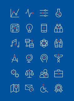 UOW - Iconography on Behance