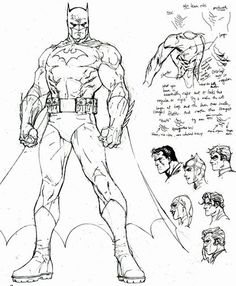 jim lee .batman notes