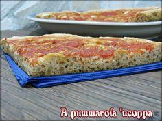 Pizza integrale senza impasto