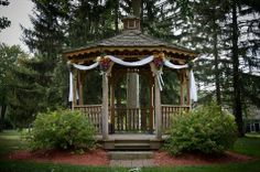 Lakeview Gazebo Gazebo Decorations, Lake View, Happily Ever After, Outdoor Structures, Prom, Senior Prom