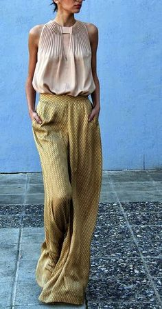 palazzos ~ Love my Palazzos Feminine, Fluid, but a Classic Pant ~