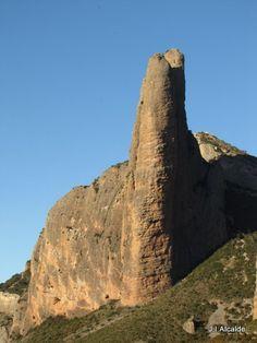 Riglos, Hoya de Huesca, Aragon, Spain - Strange, very unique 'rock art!'