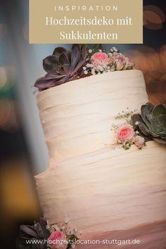Passend zur Tischdeko im green wedding style. Küchen Design, Vase, Inspiration, Home Decor, Hot Pink Flowers, Succulents, Wedding Pie Table, Decorations, Ad Home