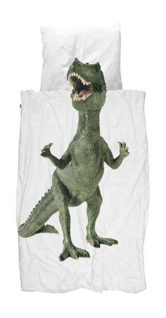 Roam the lands before time with the Snurk Dinosaurus Rex Doona Cover Set! #snurk #dinosaur #bedding #kidsroom #kidsbedding #dino #oliverthomas #bedtime