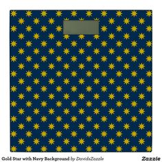 Gold Star with Navy Background Bathroom Scale Available on many products! Hit the 'available on' tab near the product description to see them all! Thanks for looking!  @zazzle #art #star #pattern #shop #home #decor #bathroom #bedroom #bath #bed #duvet #cover #shower #curtain #pillow #case #apartment #decorate #accessory #accessories #fashion #style #women #men #shopping #buy #sale #gift #idea #fun #sweet #cool #neat #modern #chic #navy #blue #black #orange #grey #gray #yellow #gold #purple