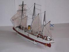 062 36.9 cm Russia Koreets gunboats Paper Model PDF File