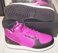 NIKE JORDAN 1 FLIGHT 3 GG Womens 7 (5.5Y) Fuchsia Flash NEW #NikeJordan #Athletic