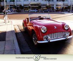 Triumph Car Jessika Peddie @Smithsonian Magazine