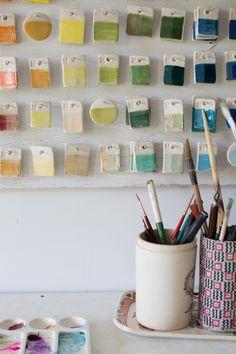 ceramic paint colors