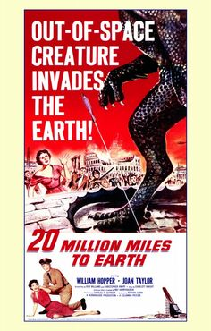 Earth vs Flying Saucers Movie Cinema Film wall Home Posters Retro Art #10 A3