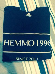 Hemmo1996 sweatshirt by CavasShop on Etsy, $22.99>> WHATS THAT I HEAR? OH, JUST THE SOUND OF MY SOBBING!!!