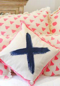 Signature X cushion. Label, Cushions, Throw Pillows, Home, Design, Toss Pillows, Toss Pillows, Pillows, Ad Home