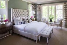 Locust Hills Residence: A Gorgeous Traditional Home in Minnesota | Bedroom (pic 3 of 3) | | image 16 of 24