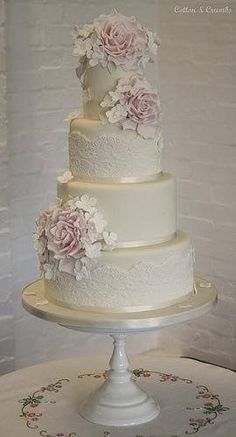Perfect wedding cake!!!