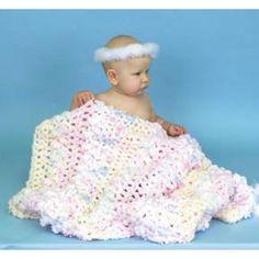 Mary Maxim - Free Baby Monet Blanket Crochet Pattern - Free Patterns - Patterns & Books