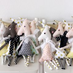 how to make a unicorn doll at http://kojo-designs.com/2016/05/diy-unicorn-dolls/