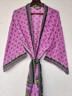 Silk Robe Long, Silk Kimono Robe, Cotton Kaftan, Cotton Saree, Beach Kimono, Long Kimono, Beach Skirt, Plus Size Robes, Plus Size Cardigans