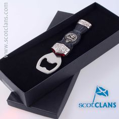 Stewart Clan Crest Sgian Brew - Bottle Opener. Free Worldwide Shipping Available