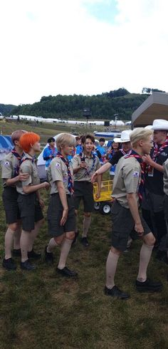 """""""NCT Dream are getting ready for The Opening Ceremony of World Scout Jamboree Dream Friends, Jeno Nct, Jisung Nct, Na Jaemin, Opening Ceremony, Winwin, Taeyong, Nct Dream, Nct 127"""