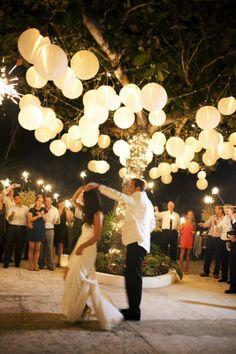 paper lanterns / lighting