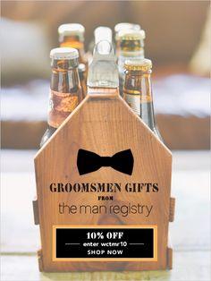 groomsmen gift ideas from The Man Registry #groomsmen #groomsmengifts #weddingchicks http://www.weddingchicks.com/2014/04/01/groomsmen-gift-ideas/