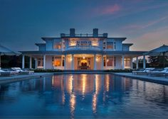 WATER MILL SOUTH WATERFRONT MANSION * HAMPTONS