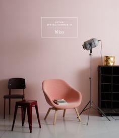 LADY Pure Color 2374 Bliss that's the color. to baby room Room Inspiration, Interior Inspiration, Deco Pastel, Design Living Room, Pink Room, Pink Walls, Interiores Design, Decor Room, Colorful Interiors