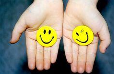 Tudo um pouco e algo mais: Bom humor e felicidade : questão de treino !