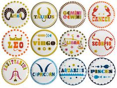 Whats your sign? Pin Badges, Keepsakes, Aquarius, Logo Branding, Astrology, Classroom Ideas, Magnets, Identity