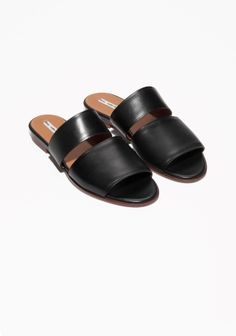 & Other Stories   Leather Slippers