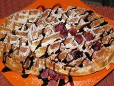 Wafle ako ich robim ja Apple Pie, Waffles, Homemade, Snacks, Baking, Breakfast, Sweet, Morning Coffee, Candy
