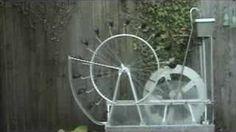 self-rotating water wheel - YouTube