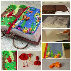 Book Cake Tutorial