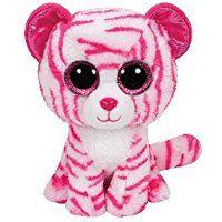 Ty – Beanie Boos – Asia le Tigre Rose – Peluche 15 cm
