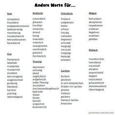 Learn German online German I . Writing Skills, Writing A Book, Writing Tips, German Grammar, German Words, Deutsch Language, German Language Learning, Spanish Language, French Language