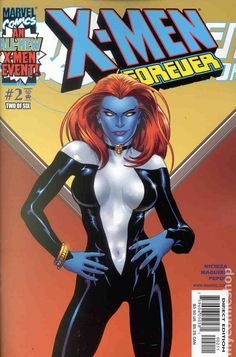 X-Men Forever (2001 1st Series) 2 Marvel Comic books modern age coverX-men Mutants
