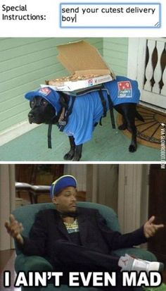 Send your cutest delivery boy.