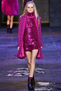 Versus Versace Fall 2012 Ready-to-Wear Fashion Show - Hanne Gaby Odiele