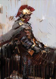Jama Jurabaev - Fotos da linha do tempo Game Concept Art, Character Concept, Character Art, Character Design, Art Cg, Jama Jurabaev, Craig Mullins, Roman Soldiers, Art Graphique
