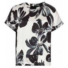 Reiss Frill Collar Top - Eleana Printed - $124.00 (41% off)