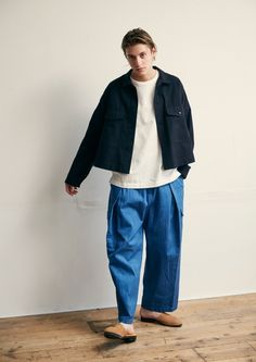 ズボン Fashion Images, Look Fashion, Fashion Outfits, Womens Fashion, Fashion Design, Hippie Style, My Style, Stylish Boys, Facon