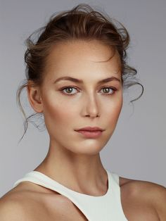 Showcasing natural beauty in Elle magazine, we love this look!