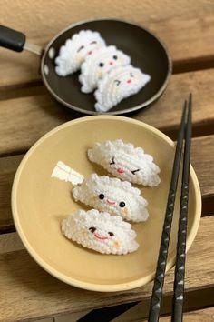 stuff susie made: Weird or Cute Gudetama? Kawaii Crochet, Crochet Food, Crochet Gifts, Cute Crochet, Sewing Projects For Kids, Crochet Projects, Crochet Decrease, Food Patterns, Crochet Amigurumi Free Patterns